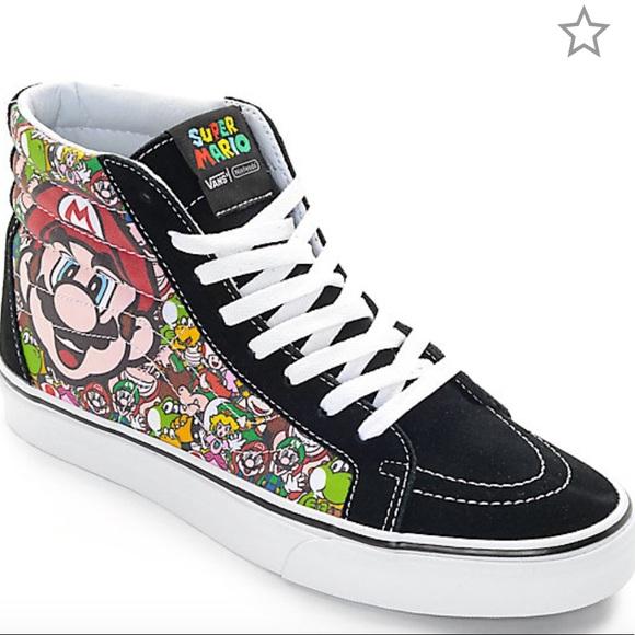 b3e53a3616 Vans x Nintendo Sk8-Hi Reissue Mario   Luigi Shoes.  M 5be712ff2beb79c8c8f152f5